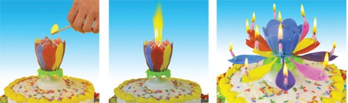 JFL Enterprises | Micellaneous Items | Incredible Candle Happy Birthday